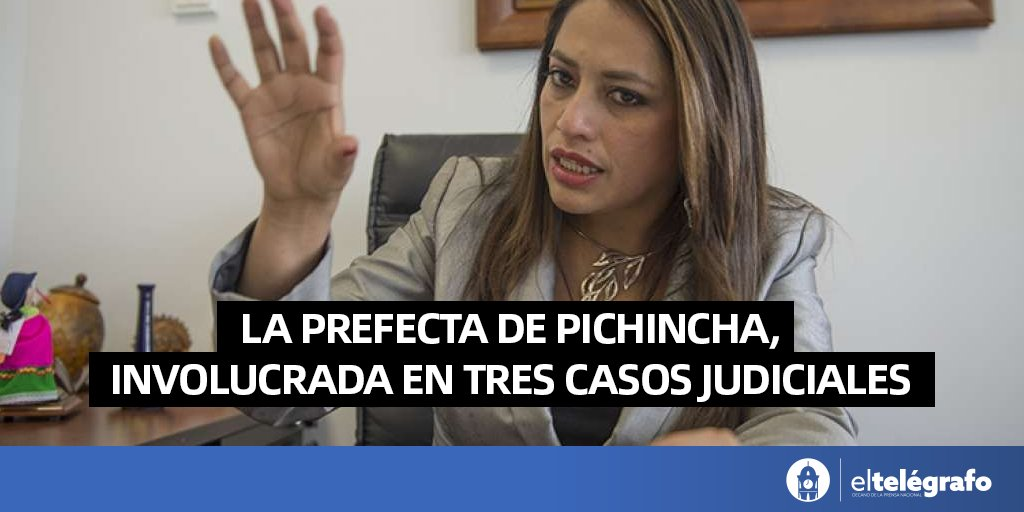 A un año 20 días de su posesión (el 14 de mayo de 2019), la prefecta de Pichincha, Paola Pabón, tiene acumulados: un proceso penal abierto y dos investigaciones por presuntos actos de corrupción: https://t.co/MmRJiQBkIz https://t.co/1TKYgHFILB