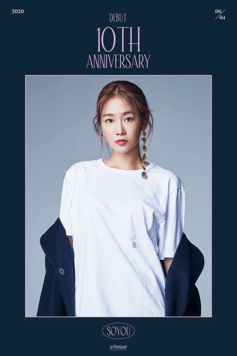[#SOYOU] 2020.06.04 SISTAR 10th Anniversary 🎉 소유 데뷔 10주년을 축하 합니다👏🏽 #소유 #SISTAR10thAnniversary