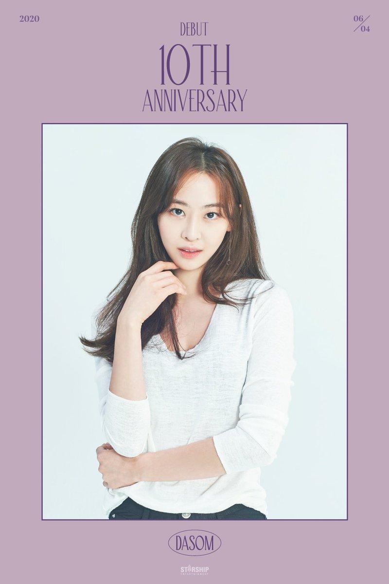 [#DASOM] 2020.06.04 SISTAR10th Anniversary 🎉 다솜 데뷔 10주년을 축하 합니다👏🏽 #다솜 #SISTAR10thAnniversary