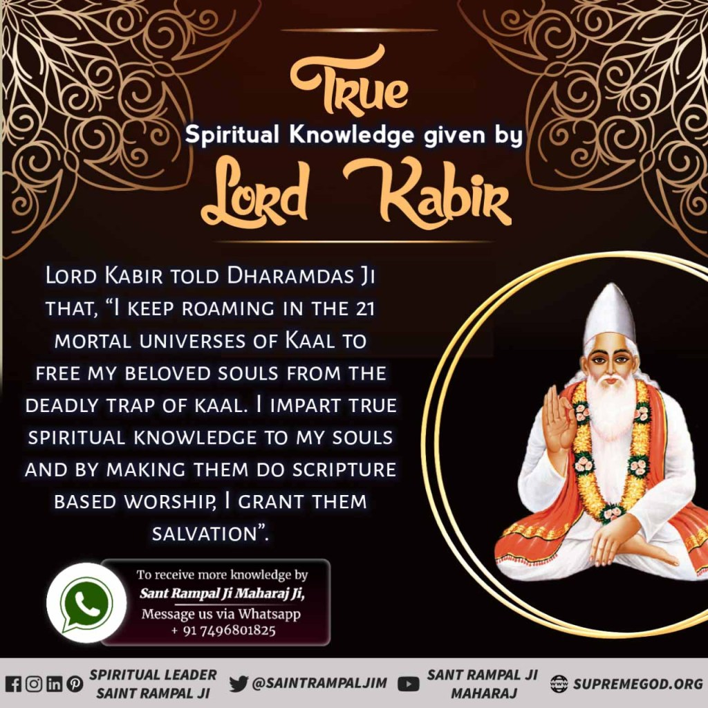 #DeepKnowlegde_Of_GodKabir  Supreme god Kabir himself does the Leela of Satguru. Only one satguru at atime is present on earth. Lord Kabir is incarnated today as saint Rampalji on earth. pic.twitter.com/c8jNhxw6qZ  by THE LEADER OF ANTIFA 🌎