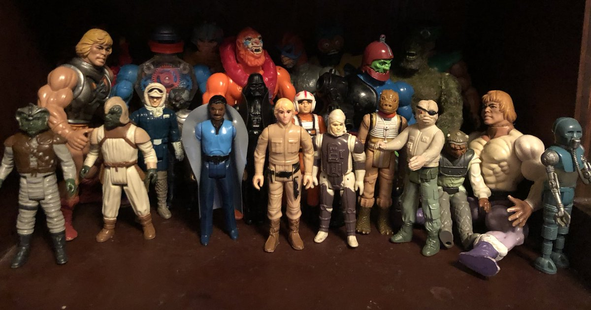 So this is what I've been collecting these past few months #Vintage #Kenner #StarWars #MOTU 80's Greatnesspic.twitter.com/c27kT9x2N8