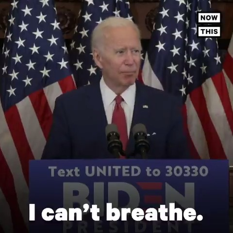 'Is this what we want to pass on to our children and our grandchildren? Fear, anger, finger-pointing, rather than the pursuit of happiness?' — @JoeBiden slammed Trump's response to George Floyd protests before calling for comprehensive police reform
