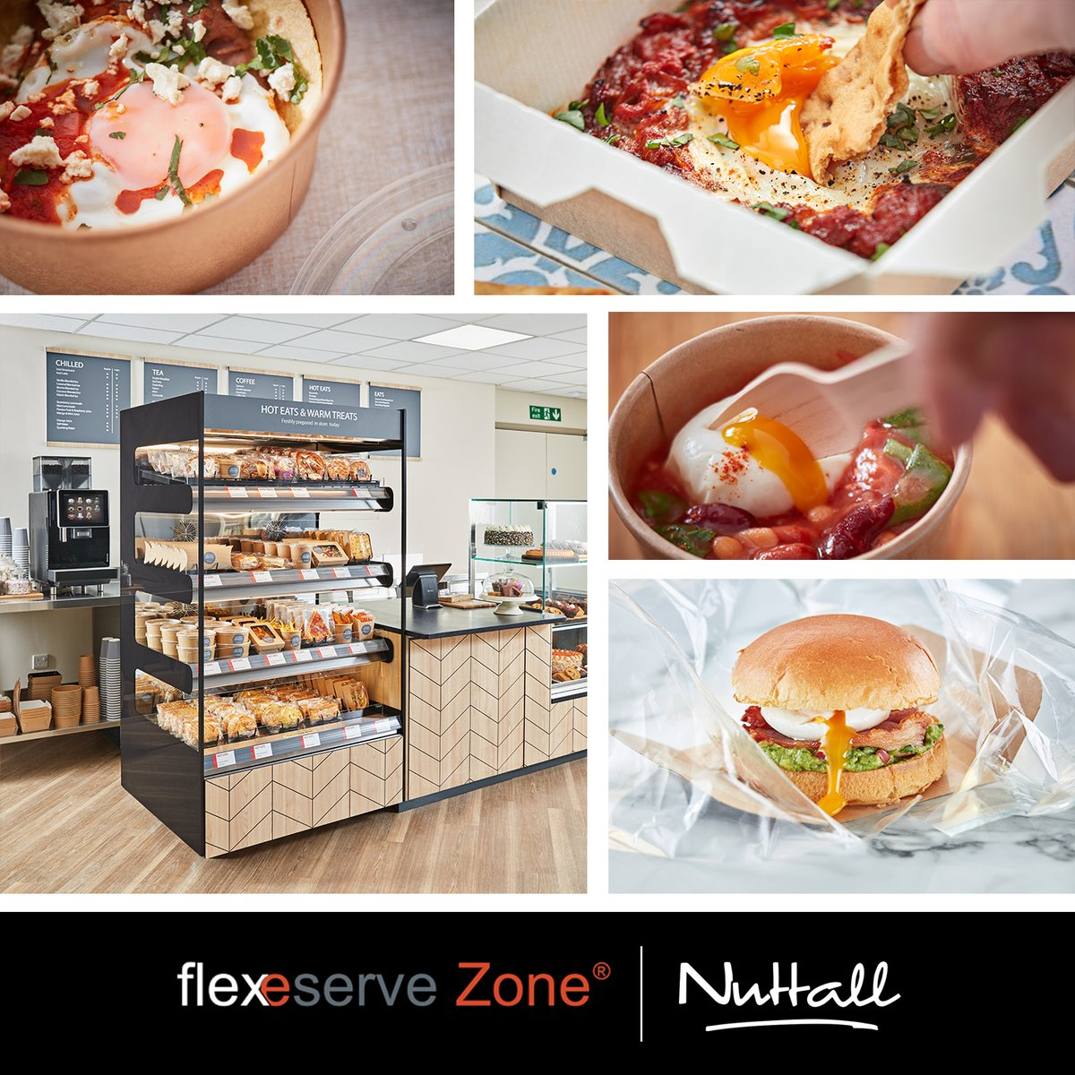 Happy #NationalEggDay! Eggs can be a challenge in the world of hot food-to-go, but we've mastered the art! Only using the unique technology of Flexeserve Zone® can you hot-hold a poached egg while maintaining a beautifully runny yolk ... https://t.co/70m0pdlQEk https://t.co/b35dTXO3oT