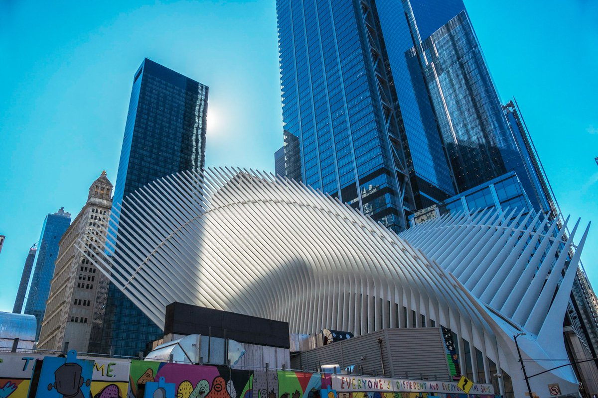 """New York, Manhattan  WTC, Oculus, Subway  Someone wrote on the wall ,,Everyone is different and everyone is the same"""" ...somewhere the rule was broken  #NewYork #Manhattan #WTC #Oculus #travelphotography #architecture #Calatrava #march2020  📸#PanasonicLumix  Good Evening To All"""