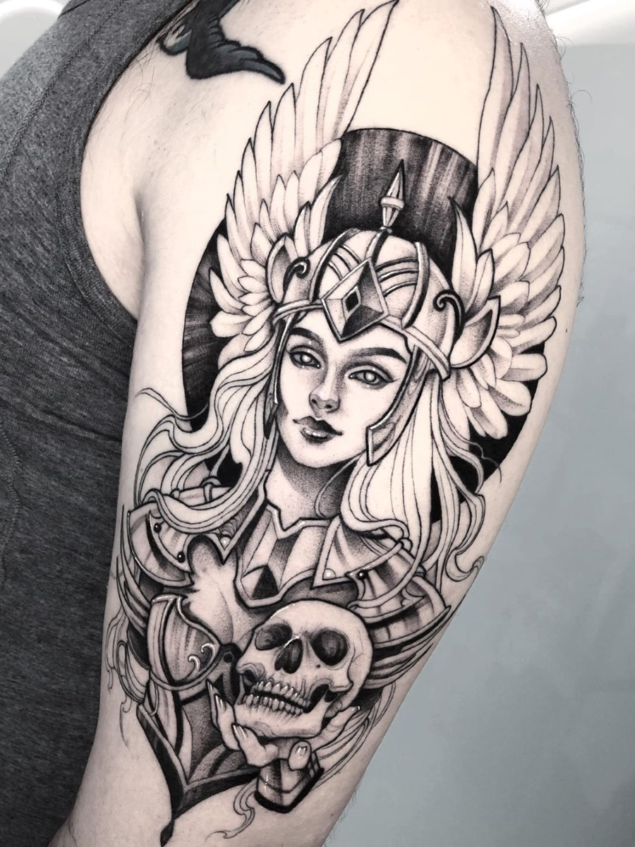 Ramon On Twitter Marta Adan Valkyrie Tattoo Ink Art