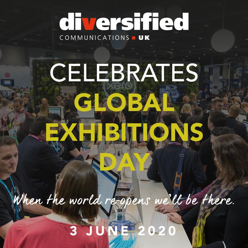 Today is #GED2020 - Global Exhibitions Day! Events are such an important networking opportunity - both on a business and personal level. We are looking forward to seeing you when we return in 2021! pic.twitter.com/uV8dAolXYK
