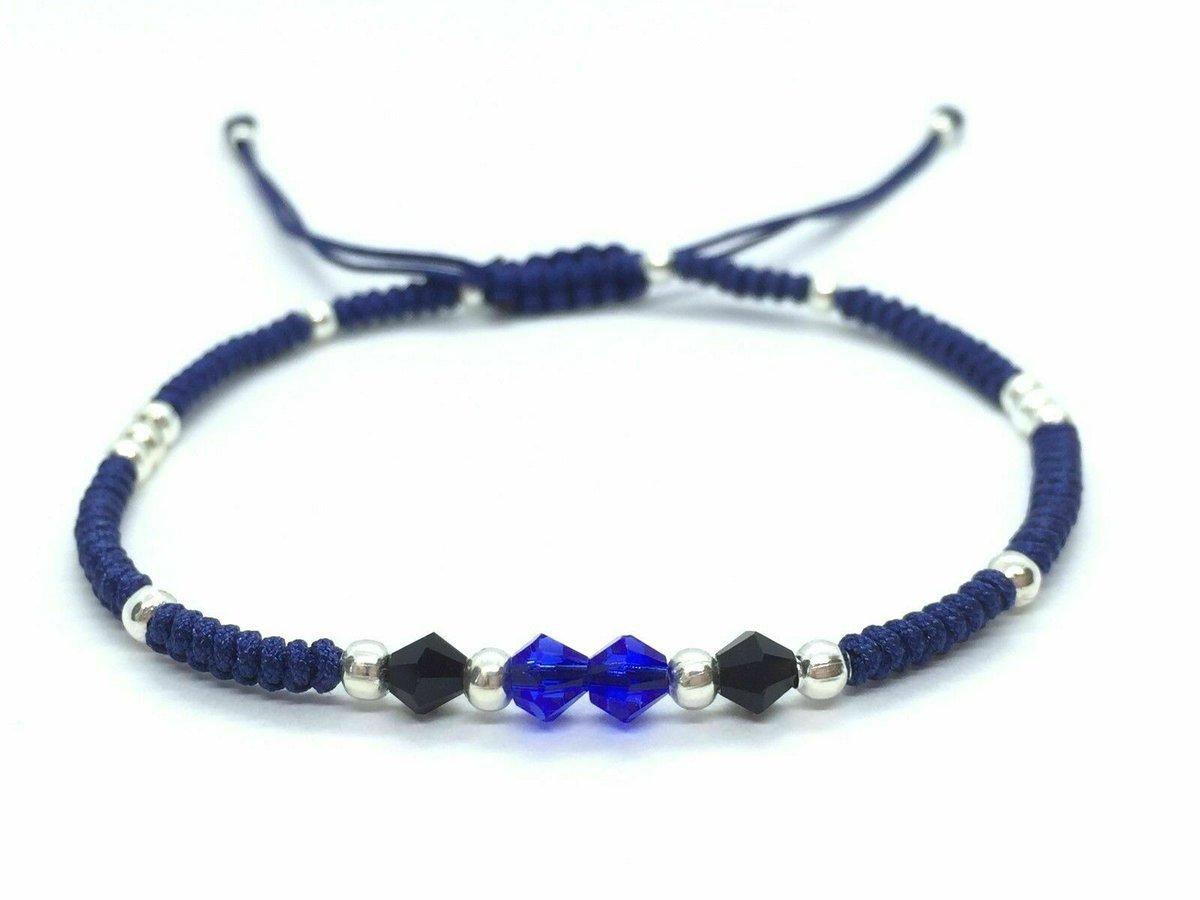 Sparkling black and blue crystals braided bracelet #Handmade #Bracelet #Crystal #Fashion [https://ebay.us/ghAyuM]pic.twitter.com/LjregWTy3L