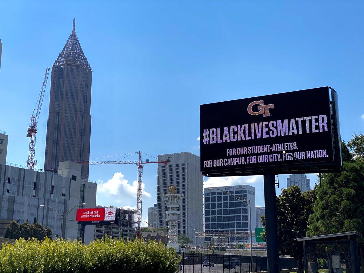 For our City. #BlackLivesMatter #OneAtlanta #TOGETHERWeSwarm