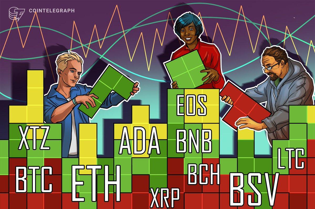 #Altcoin #Markets #Bitcoin #Ethereum #Ripple Price Analysis 6/3: BTC, ETH, XRP, BCH, BSV, LTC, BNB, EOS, XTZ, ADA http://dlvr.it/RXwbJMpic.twitter.com/U3mbTOY8lU