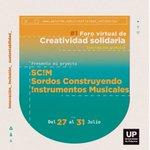 Image for the Tweet beginning: 1Foro Virtual de Creatividad Solidaria