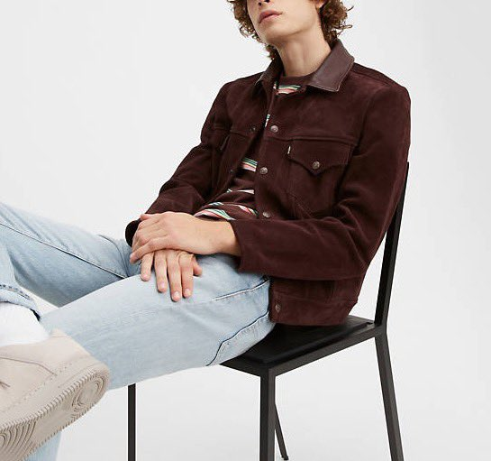 deal@LEVIS 1960'S SUEDE TRUCKER JACKET $600 (Reg $1,200) http://ugly.wtf/clothingstay safe, we all UGLY#levis #style #ootd #styleinspo #springfashion #ootd #fit #dealofthedaypic.twitter.com/l9ti8J7fyn