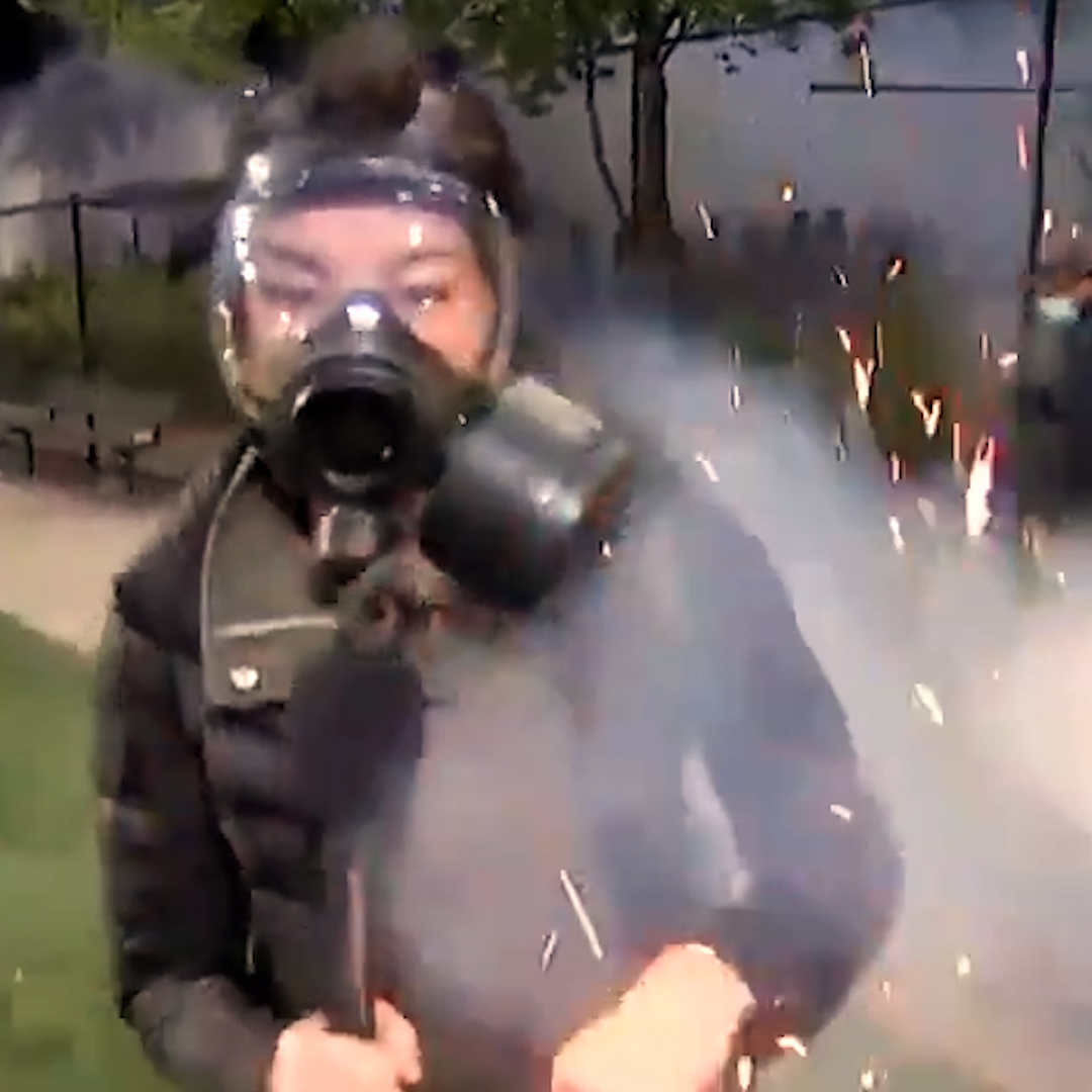 Journalists across the U.S. covering anti-racism protests say they are being deliberately attacked by the police.
