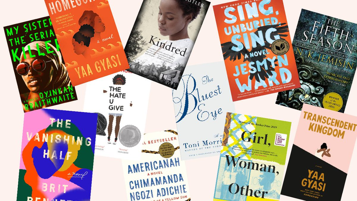 11 fiction books written by black women to diversify your bookshelf cupcakesandcashmere.com/lifestyle/11-f…