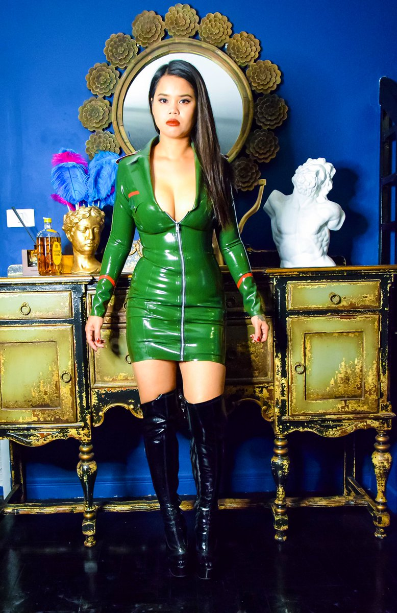 welcome back... I'm your new Boss   apply here: mistressnikkibkk@gmail.com  #BDSM #Mistress #Domina #BangkokMistress #AsianGoddess #caning #latex #boots #sissymaid #sissytraining #whipping #dungeon pic.twitter.com/AF8Ib5b8GN