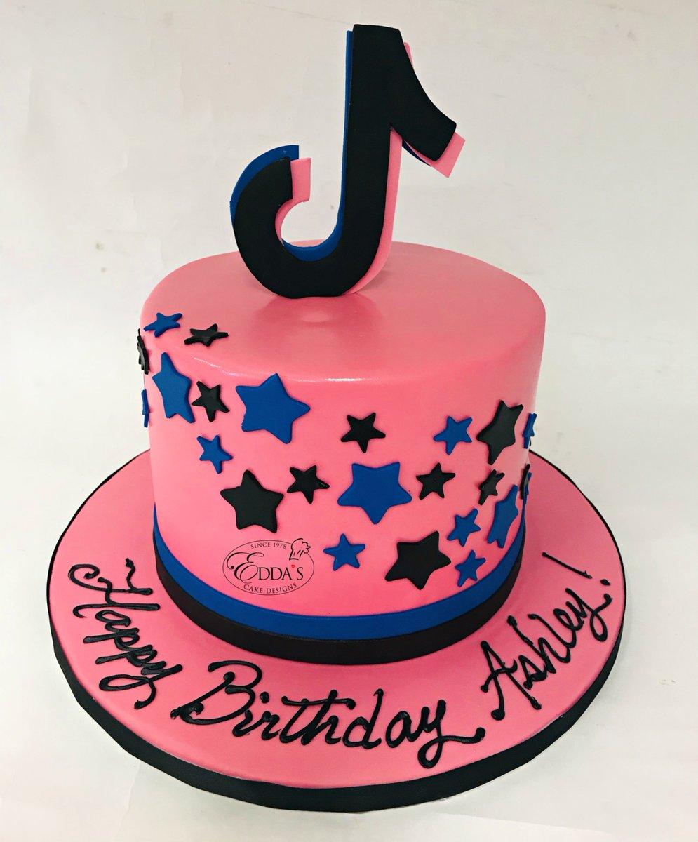 Edda S Cake Designs On Twitter Ready To Be Part Of Your Next Video Tiktok Tiktokcake Birthdaycake Eddascakes