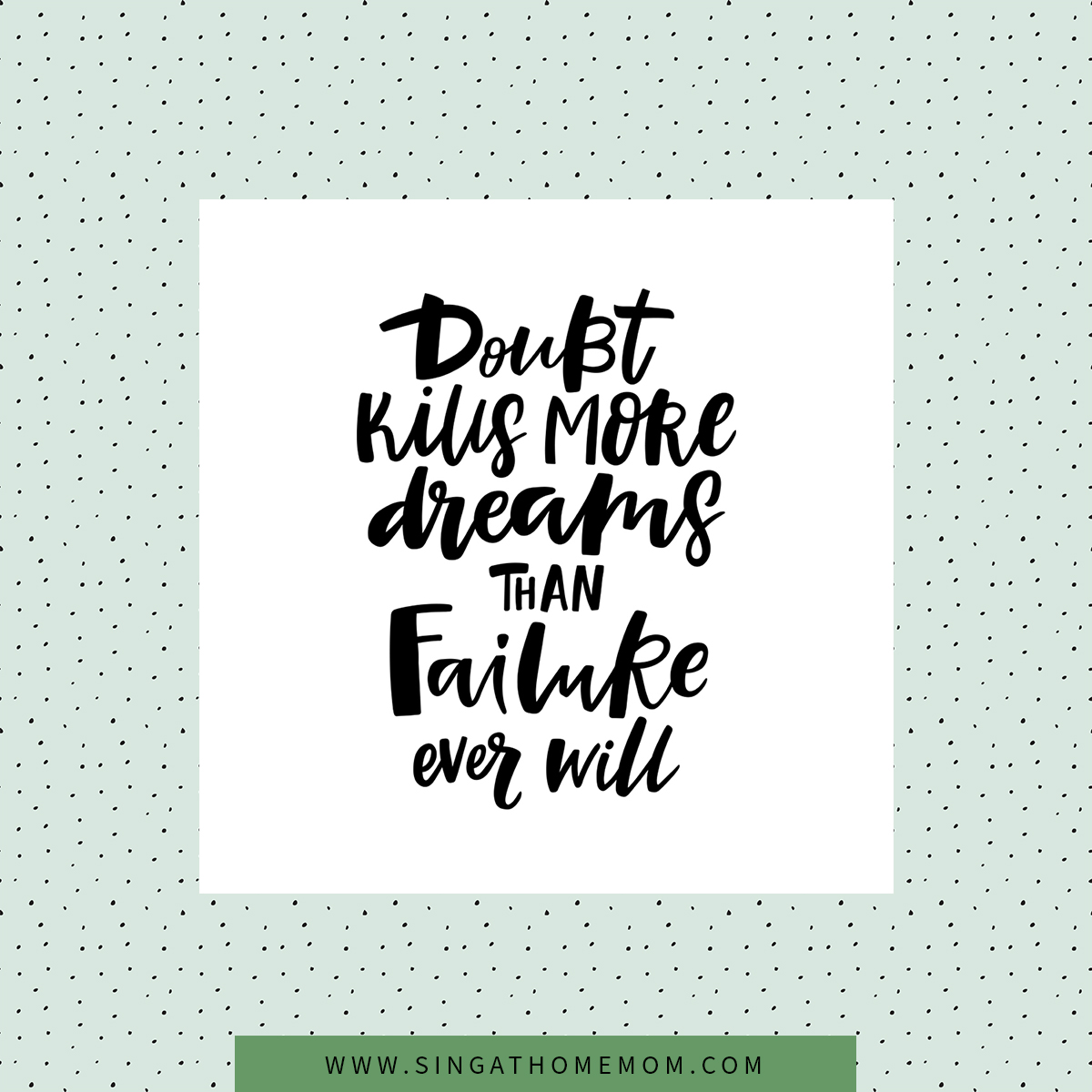 This is so true. Don't give up. If you still have this dream, as I do, don't ever give up. #singathomemom #broadway pic.twitter.com/CJhtfup2FD