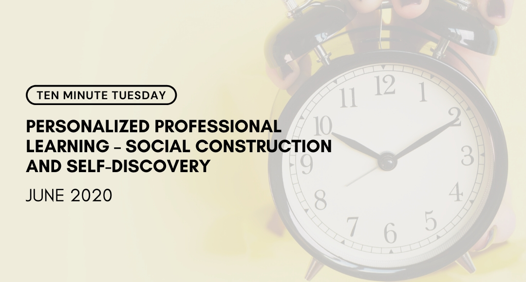 Allison Rodman (@thelearningloop) joins us again this week to continue our conversation about Personalized Professional Learning!  ➡️ https://t.co/FVozPoAnra ⬅️ #10MT #10MinuteTuesday #SocialConstruction  #SelfDiscovery  #edchat  #ppl https://t.co/Sz2NkWG8t8