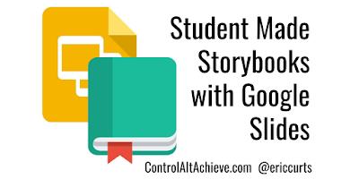 A2: Students can make eBooks and storybooks with Google Slides https://t.co/1zQOE8wMdZ #CVTechTalk #ControlAltAchieve https://t.co/piWTDp5U7M