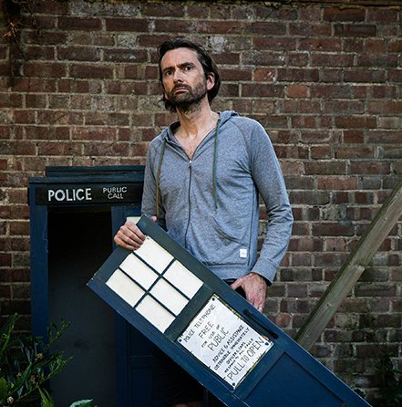 David Tennant from Staged