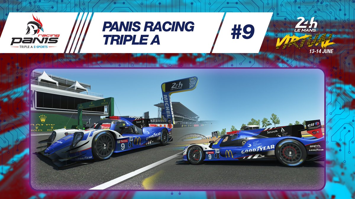 👉Check out the liveries chosen by @panisracing  @tripleA_Agency for the #LeMans24Virtual!   What do you think? 😌  #LeMans24 #ELMS https://t.co/tDqtK86HRC