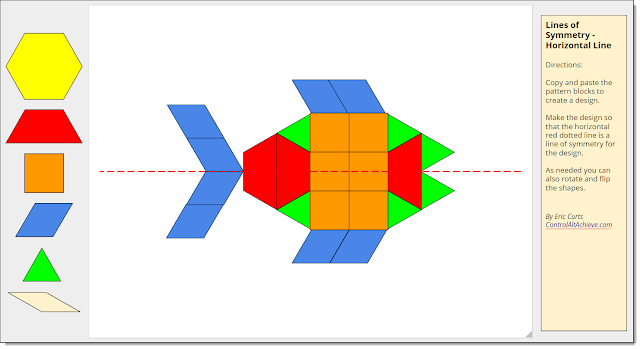 A4: Google Drawings can be used to explore math concepts such as symmetry, shapes, fractions, pictographs, and more https://t.co/7t5kIyHXkZ #CVTechTalk #ControlAltAchieve https://t.co/L8nlLtepTD