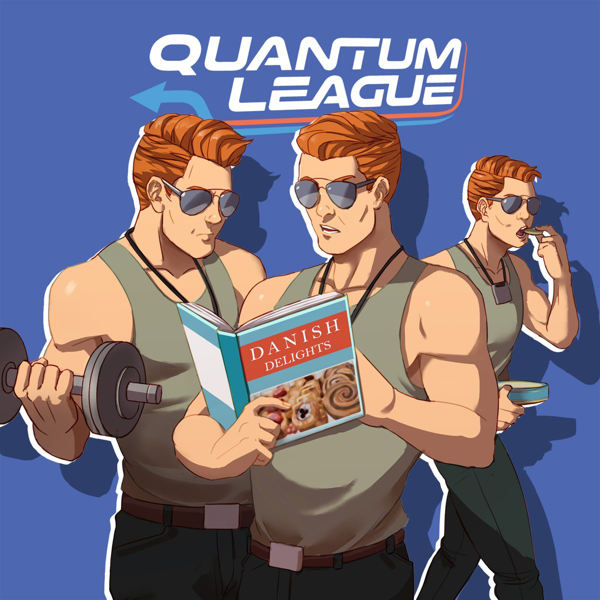 #RepeatDay is an opportunity to do things over and over again. Battle in a time loop and tactically team up with your past and future selves in Quantum League! #RepeatDay is an opportunity to do things over and over again. Battle in a time... you got it. #QuantumLeague https://t.co/wCMw3u9Ak0