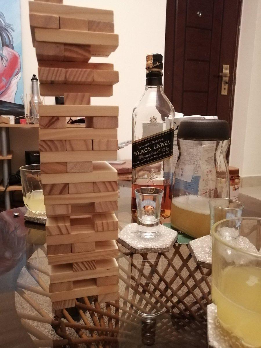 Staying indoors is very cheap! 2nd night in a row. I love it.   #GameNight #Njenga  #PineappleVodka aka #GlorifiedMuratina 😉 https://t.co/C7kiq5QGI4