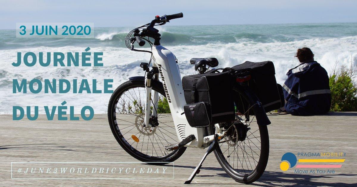 Troisième Journée mondiale du vélo dont la ratification a eu lieu en 2018. 😎 #June3WorldBicycleDay