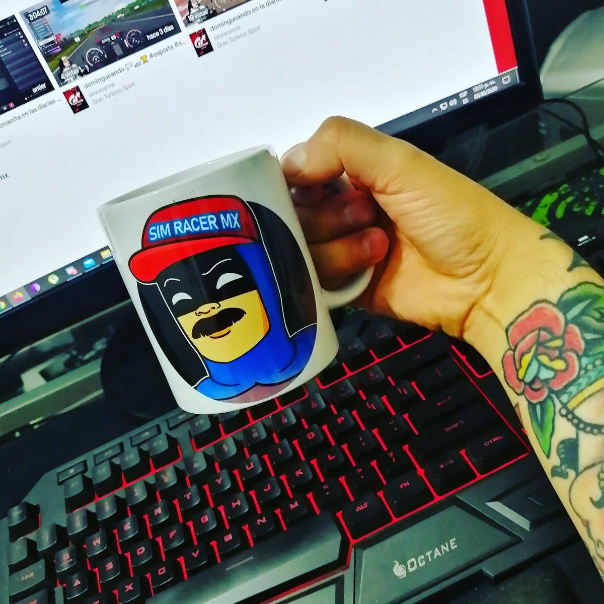 ¡Un poquito de ☕ cafeína al ⛽ tanque y vámonos reciooo!  #simracer #virtualgp #virtualrace #ps4 #esports #granturismosport #twitch #AssettoCorsa #ProjectCars2 #F12019 #ps5 https://t.co/Og6FYYxqpn