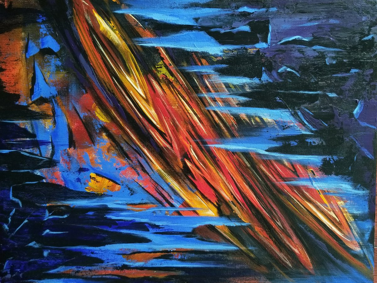 """""""Fire and Water"""" available at http://handofisis.com #buyblack #supportblackart #blackart pic.twitter.com/DDsHdzUYnD"""