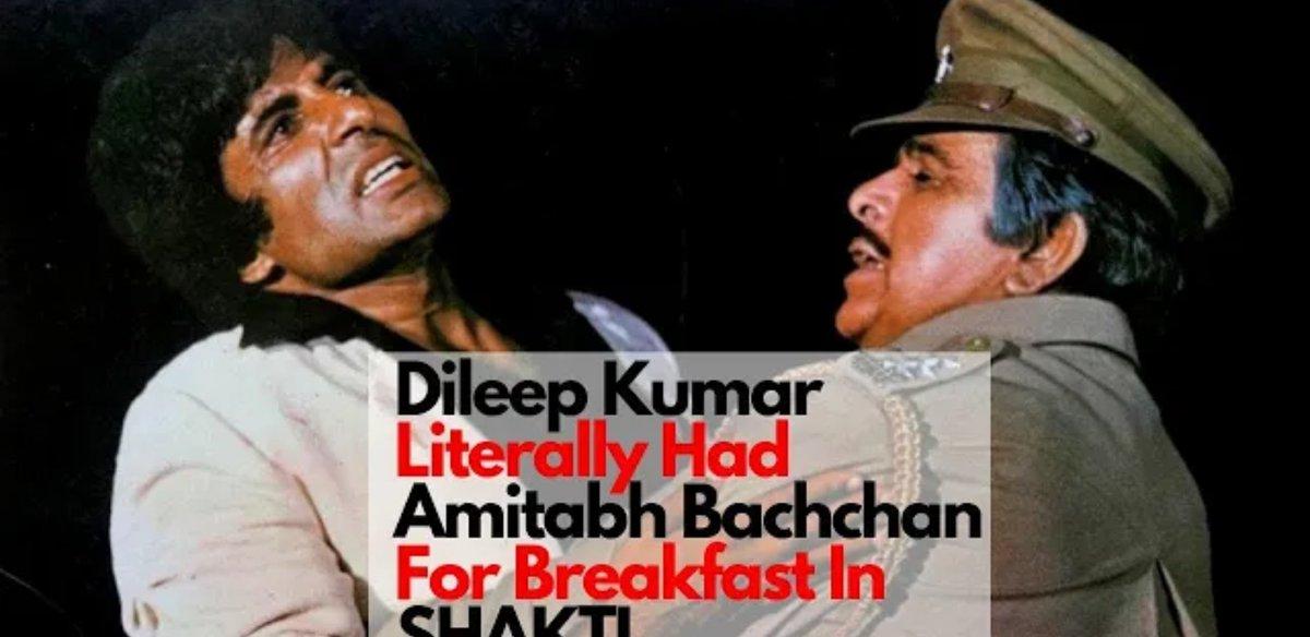 Dileep Kumar Literally Had Amitabh Bachchan For Breakfast In Shakti {https://youtu.be/zW3nY6I9sDM}  #Shakti #AmitabhBachchan #dileepkumar #Bollywood #bollywoodfilm #bollywoodactress #bollywoodactors #asianfilms #celebritynews #EntertainmentNews #actorslifepic.twitter.com/Dq1EaUgaJC