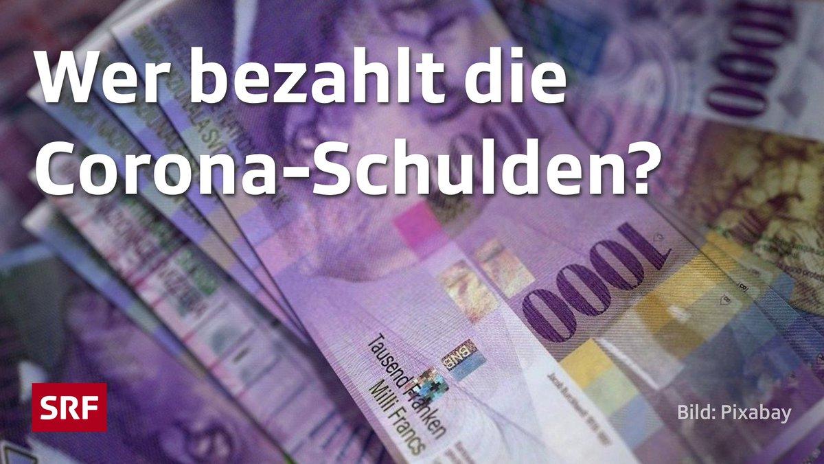 Die #Coronakrise kostete die  30 Milliarden Franken – zählt man die Kredite für Unternehmen hinzu, wächst der #Schuldenberg auf ein ganzes Jahresbudget an.  Was heisst das für die #Steuerzahler? #srfeinfachpolitik geht der der Frage nach: https://www.srf.ch/play/radio/einfach-politik/audio/das-corona-schulden-loch?id=1eaa0053-081a-4827-8646-f4312bba1936… @la_wavpic.twitter.com/v4qrxFD2C9  by es ist alles okay i.w.S. 🏠