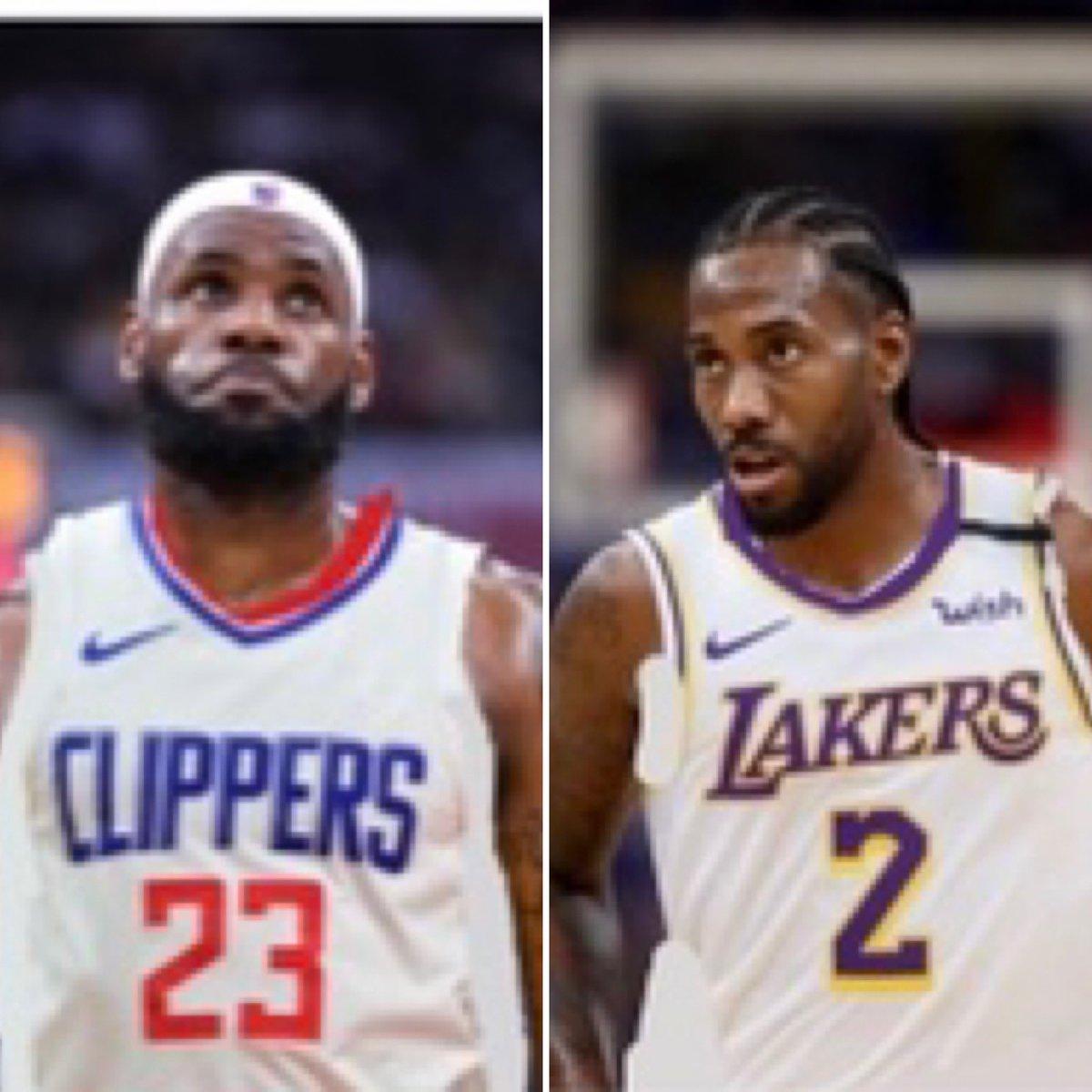 if @KingJames and Kawhi Leonard swapped teams which side are you rolling with? follow @nba_editsss23 for more content like this🤝 · · . . #nba #basketball #nike #explorepage #jordan #lebronjames #kawhileonard #stephencurry #dunk #layup #goat #insane #jerseyswap #bucket #kingjames https://t.co/K96EJYMxBU