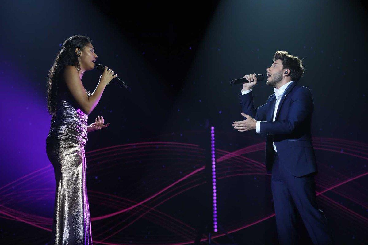 "Actuación de @BlasCanto y @SoyNiaOT2020 con ""Hoy tengo ganas de ti, en la gala 12 de Operación Triunfo 2020 🎤 de esta noche ➡️ youtu.be/VP271o7utzo #eurovision #OperacionTriunfo #rtve"