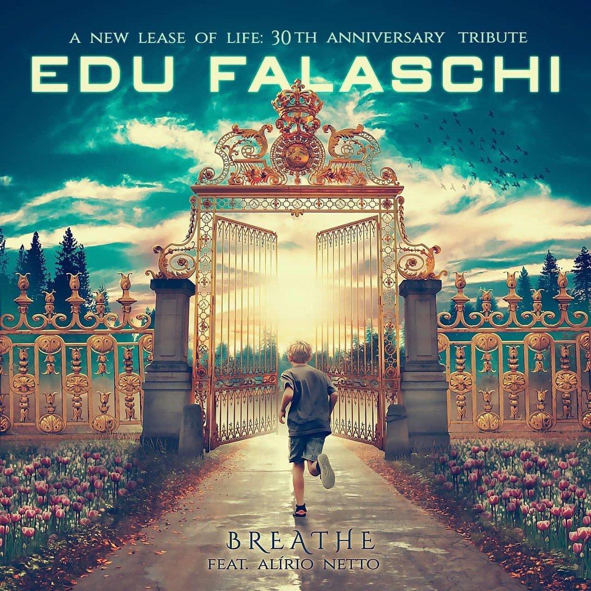 Belíssima a arte da capa do novo single do tributo ao #EduFalaschi  A música estará disponível nas plataformas digitais no dia 12 de junho. pic.twitter.com/27sNzryurF