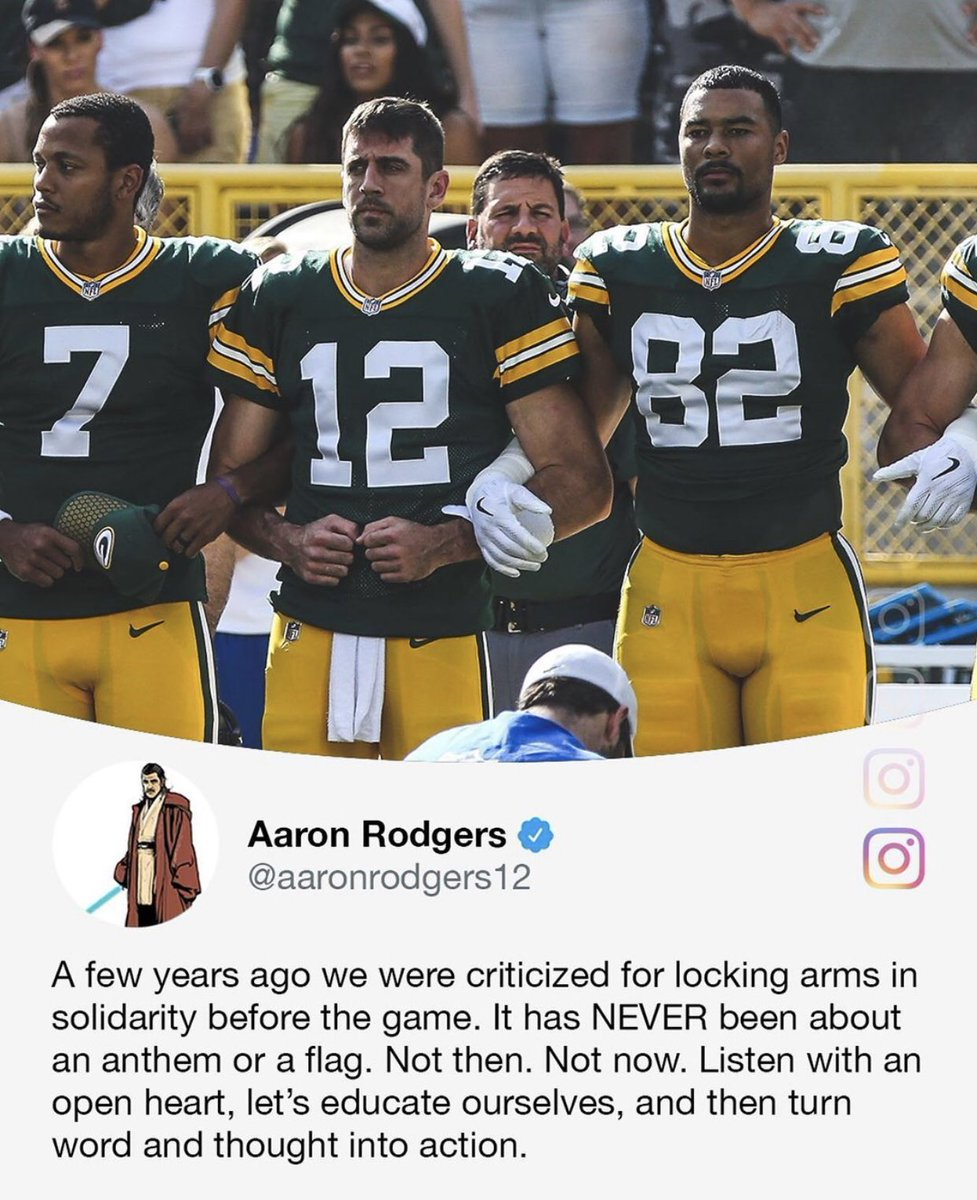 @AdamSchefter's photo on Aaron Rodgers
