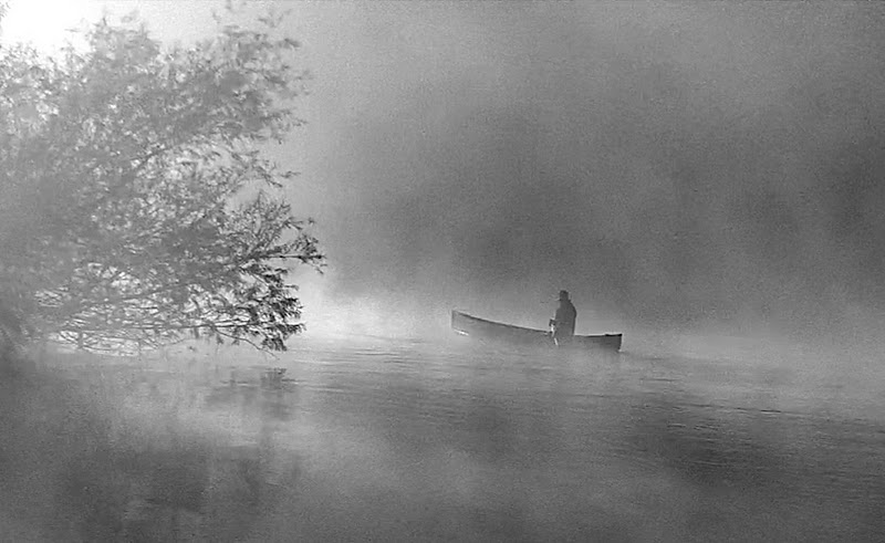 The mist that moves with morning Slowly peels itself from the lake I steer my canoe, ride through it  As a new day comes awake...    .   .  #nature #beauty  #magical #natural  #poetry #naturelovers #thursdaymorning