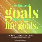 """Image for the Tweet beginning: """"Set financial goals that are"""