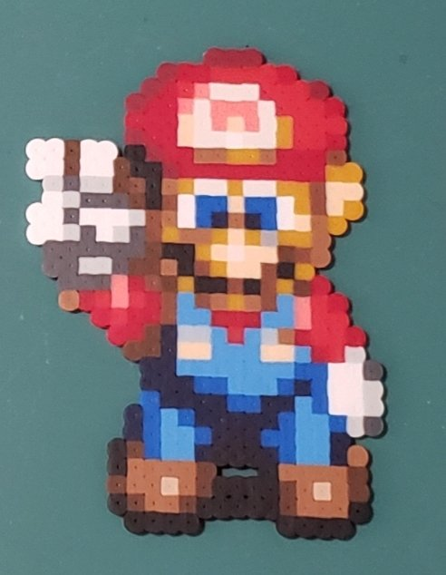 45 minutes to go on the perlers #ForTheKids auction for Mario with a current high bid of $20 to support #EXTRALIFE! Reply to this tweet to make a last minute bid!