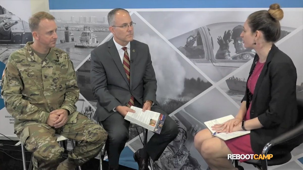 It's National #RepeatDay, which makes it a great day for a #WayBackWednesday post! SFL Director Prescott Farris and Director of @USArmy Retirement Services Mark Overberg talked to @MilitaryTimes Rebootcamp about #SoldierForLife in December 2018: https://t.co/p1JnR9pZEB! #USArmy https://t.co/RuAmJulIGH