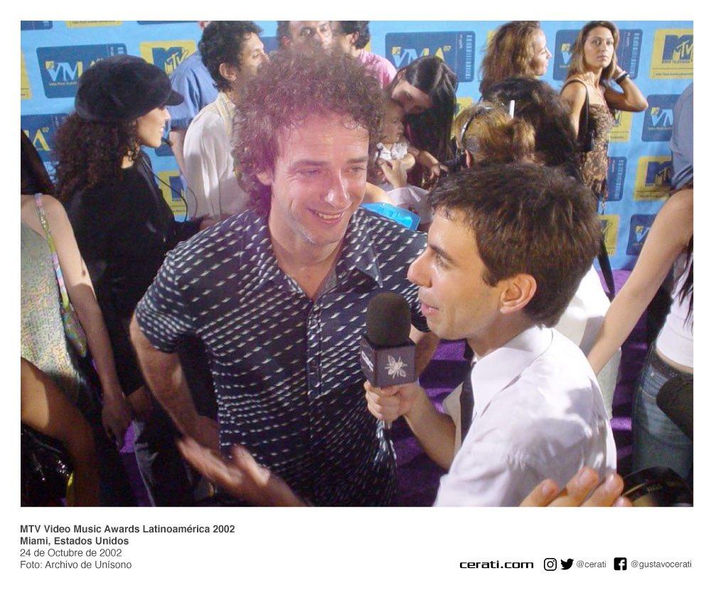 MTV Video Music Awards Latinoamérica 2002 Miami, Estados Unidos 24 de Octubre de 2002 Foto: Archivo de Unísono https://t.co/F2FK9hPS2Z