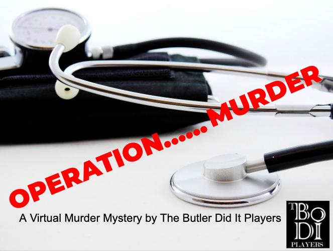 Operation....Murder! Virtual Murder Mystery June 13th 8pm EST #MurderMystery #onlineevent #theater #imonlyhereforthealibi<br>http://pic.twitter.com/131qLGK7ez