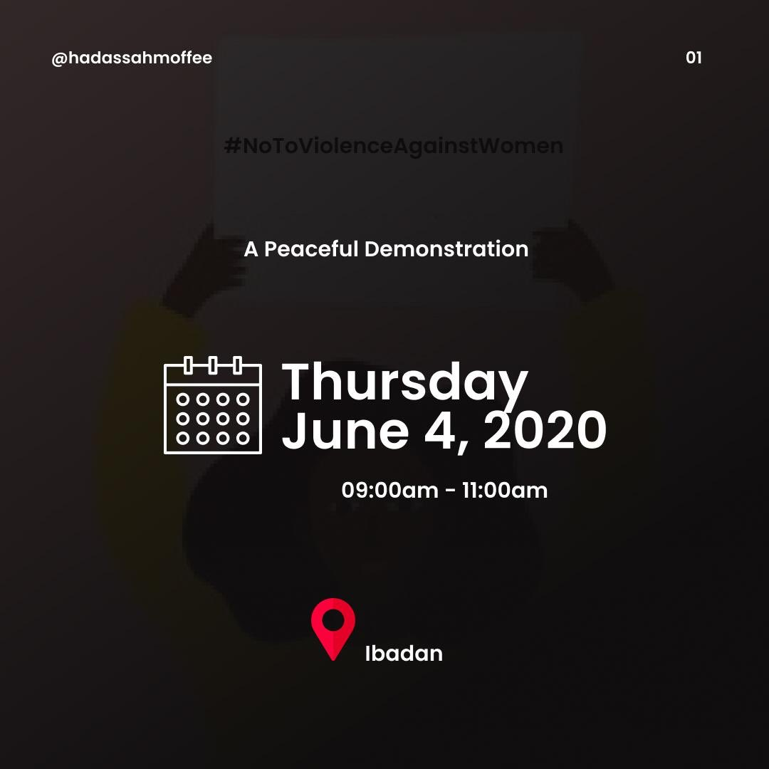 If you are in Ibadan, kindly join us as we take to the streets in a peaceful demonstration.  Send a SMS to 09059426477 to be a part.  RETWEET  <br>http://pic.twitter.com/pHOBED82y7