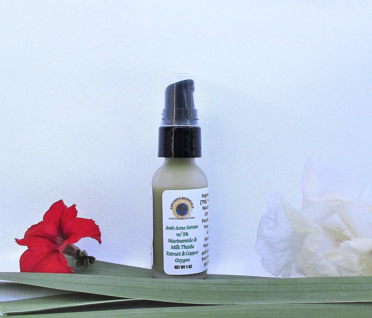 New-Anti-acne serum! #greenbeauty #zerowaste #acne #NaturalBeauty #willowbarkpic.twitter.com/vHPvjuaYrh