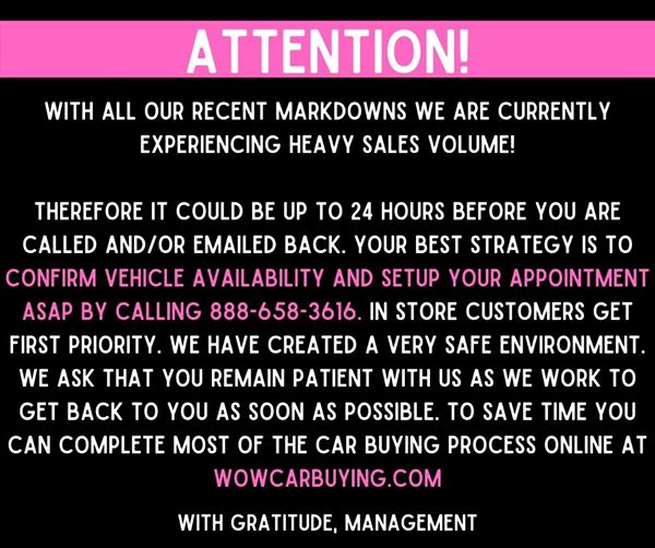 ATTENTION!!! #Attention #customers http://wowcarbuying.com/all pic.twitter.com/3Wm1Jov8tF