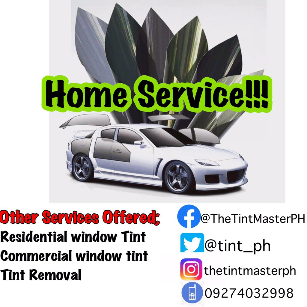 We are offering car tint service! Book your appointment now! #cartint #cartintservice #tint