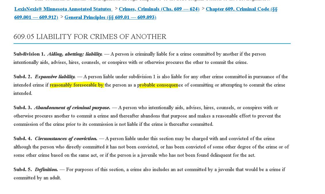 abetting a crime definition francais
