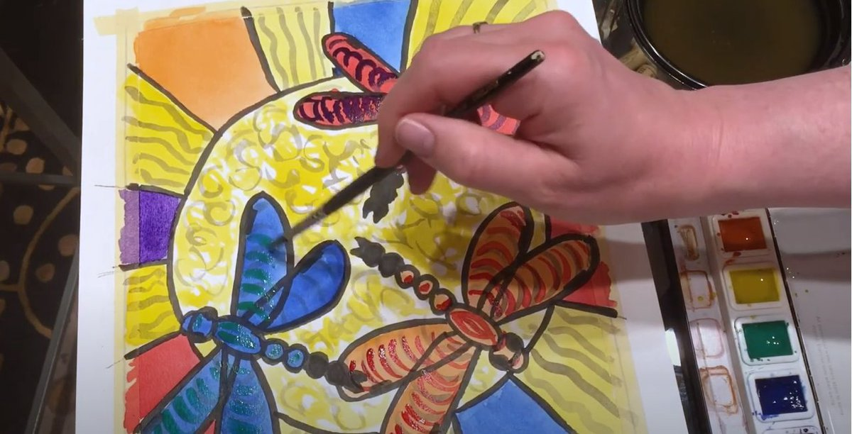 Art instructor Alayne McNulty offers a new lesson for you to enjoy from the comfort of your home in this online version of the @ahml popular #CreativeAging: #ArtwithAlayne series. Watch June's #artclass on YouTube and try this month's project  #getcreative