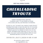 Image for the Tweet beginning: Interested in cheerleading?  Complete