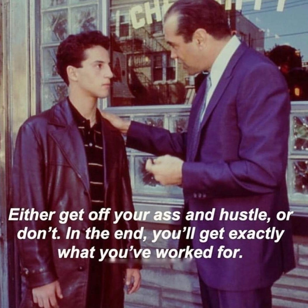 Facts, You Get What You Put In & What You Put Out. 💯 #TheChoiceIsYours #NothingIsGiven #HustleHardAndEarnIt #GrindMode #NewChapterInMyLife #ABronxTale https://t.co/Jcwm6t7s65